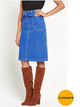 miss-selfridge-midi-skirt-with-self-tie-belt
