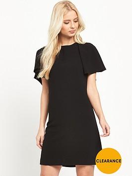 v-by-very-ruffle-v-back-dress