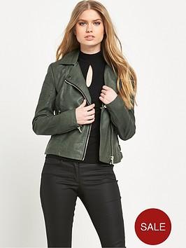 miss-selfridge-pu-biker-jacketnbsp