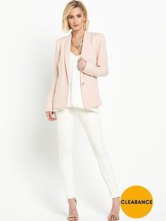 miss-selfridge-crepe-tux-blazer