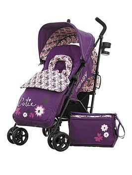 obaby-zeal-stroller-bundle--little-cutie