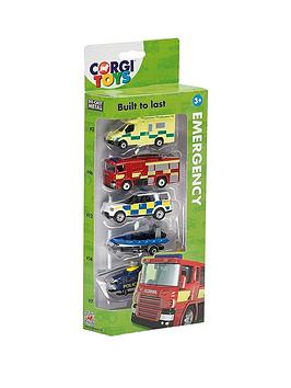 corgi-diecast-5-pack-emergency-services