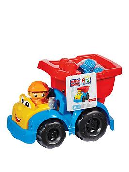 mega-bloks-first-builders-dylan-dump-truck