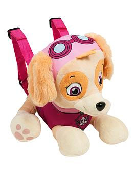 paw-patrol-skye-plush-backpack