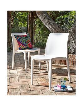 pair-of-white-sentonbspchairs