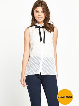 v-by-very-contrast-tie-ruffle-collar-blousenbsp
