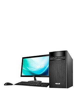 asus-k31an-uk002t-intelreg-pentiumreg-4gb-ram-1tb-hard-drive-215-inch-desktop-bundle-with-optional-microsoft-office-365-personal-black
