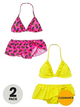 v-by-very-girls-bright-frill-bikinis-2-pack