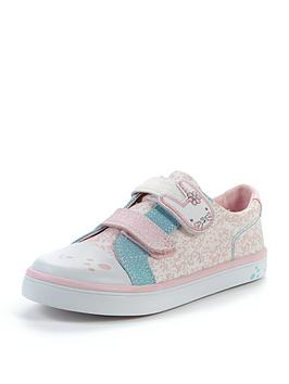 clarks-girls-gracie-bea-canvas-strap-shoes