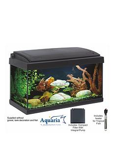 lotus-aquaria-fish-tank-set-60-57ltrs-including-led-lighting-50-watt-heater-pump-and-filter