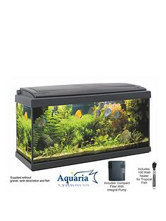 lotus-aquaria-fish-tank-set-80-93ltrs-including-led-lighting-100-watt-heater-pump-and-filter