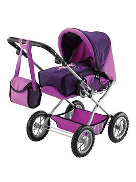 bayer-doll039s-pram-combi-grande-set