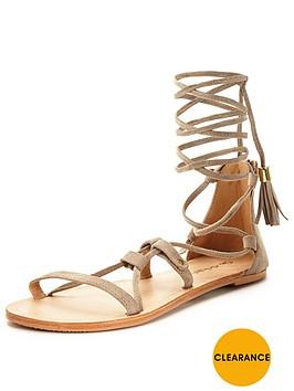 miss-selfridge-suede-sandal