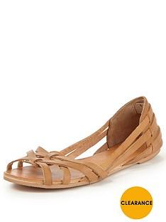 miss-selfridge-flat-sandal
