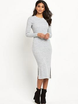 river-island-knitted-ribbed-bodycon-midi-dress