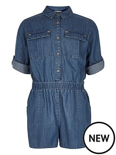 river-island-girls-denim-playsuit
