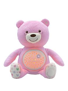 prod1087894080: First Dreams Baby Bear Night Projector - Pink