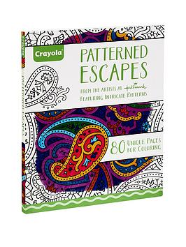 crayola-crayola-patterned-escapes-adult-colouring-book
