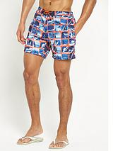 Hugo Boss print swimshort