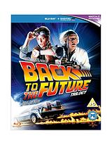 Back To The Future Trilogy Blu-ray (With Ultraviolet)