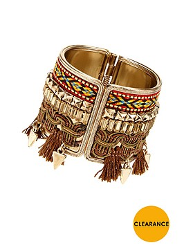 v-by-very-tassel-aztec-cuff