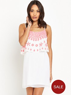 v-by-very-embellished-double-layered-dress