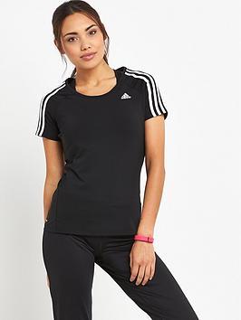 adidas-basic-3-stripes-t-shirt-black