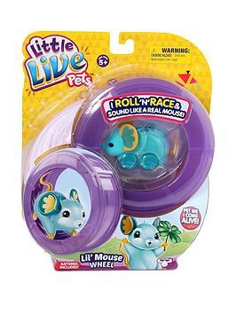 little-live-pets-mouse-wheel-pack-luck-lou-lou