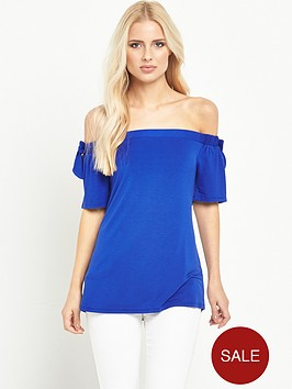 v-by-very-bow-shoulder-bardot-top