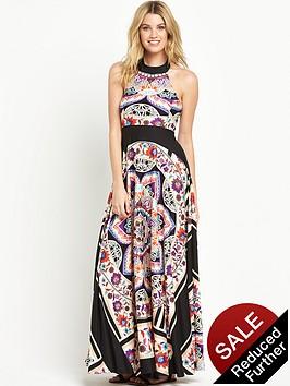 v-by-very-petite-scarf-print-maxi-dress