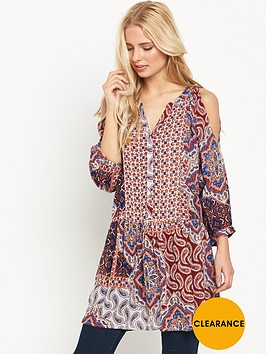 v-by-very-printed-cold-shoulder-tunic