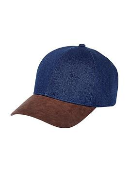 river-island-denim-block-cap