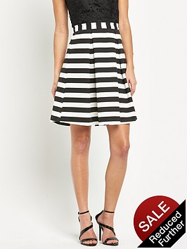 lipsy-ariana-grande-stripe-midi-skirt