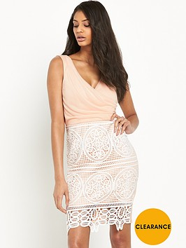 lipsy-michelle-keegan-crochet-wrap-dress