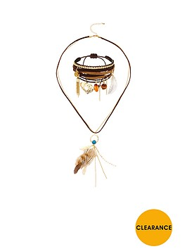 v-by-very-2-piece-feather-detail-necklace