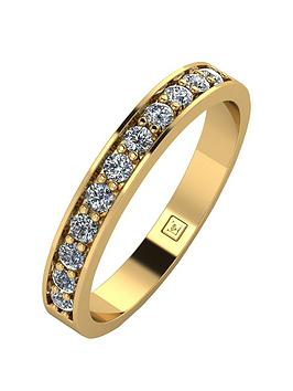 moissanite-9ct-gold-33-points-eternity-ring