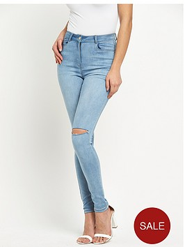 v-by-very-high-waistednbspripped-knee-jeans
