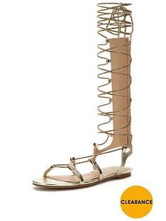 v-by-very-metallic-gladiator-tie-up-sandal