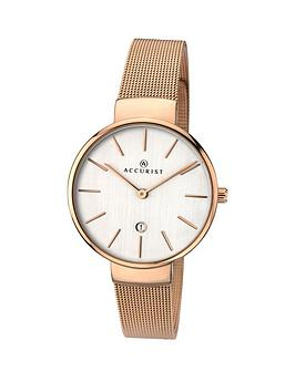 accurist-milanese-rose-gold-staninless-steel-bracelet-ladies-watch