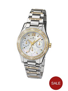 accurist-multi-mother-of-pearl-dial-ladies-watch