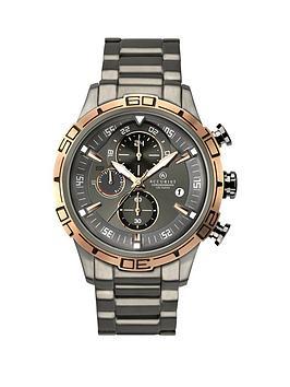 accurist-contemporary-chronograph-gun-metal-bracelet-gents-watch