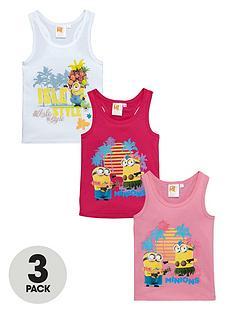minions-girls-racer-back-vests-3-pack