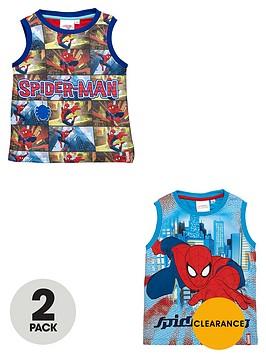 spiderman-boys-printed-vests-2-pack