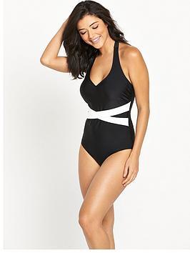 v-by-very-controlwear-cross-over-halter-neck-swimsuit