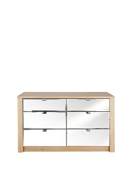 como-mirrored-3-3-graduated-drawer-chest