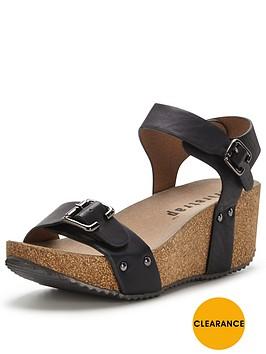 firetrap-merlot-buckle-wedge-sandal