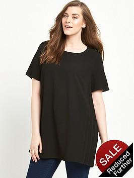 lovedrobe-curve-pleat-side-blouse-sizes-14-26nbsp