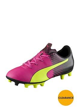 puma-evospeednbspjunior-55-tricks-firm-ground-football-boots