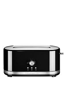 kitchenaid-5kmt411bob-long-slot-toaster-black