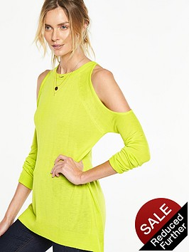 v-by-very-exposed-shoulder-elliptical-hem-jumper-nbsp